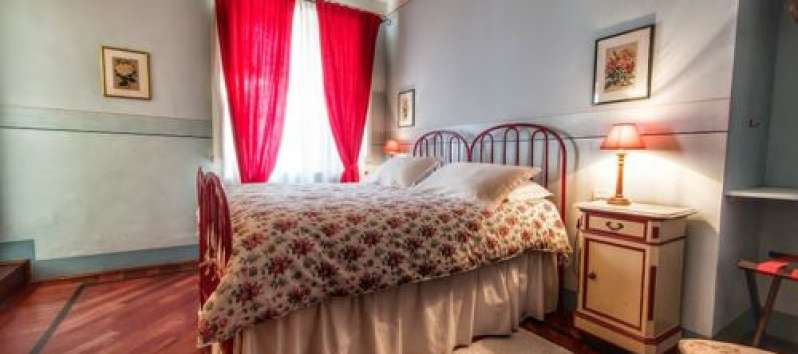 Villa Agreste camera da letto rossa